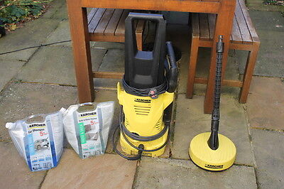 Pressure Washer Kit - Karcher K2 Home/Car and Patio Cleaner Brush