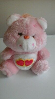 Small love a lot vintage care bear in great condition