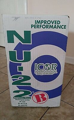 Nu-22 B Refrigerant, 25lb Cylinder, R22 Replacement