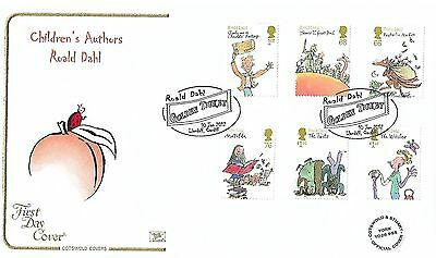 Gb 2012 Roald Dahl Stamp Set On Cotswold Official Fdc