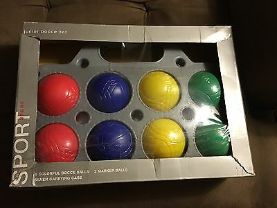 Jr Bocce Set with Case