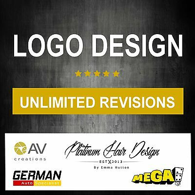 Logo Design Service, Quick & Cheap, Professional & Bespoke - Unlimited Revisions