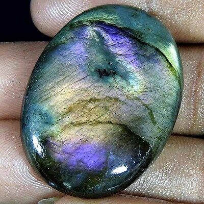 54.10 Cts 100% natural multi purple flash labradorite oval cabochon gemstones