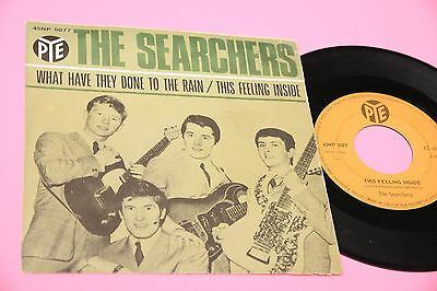 """Searchers 7"""" What Have .. Orig Italy '60"""