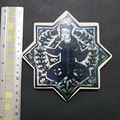 *** Great Discount*** Turkey Ottoman Selchuklu Star Ceramic Tile Print Figuren