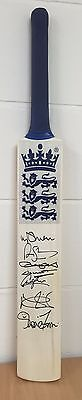 Cricket Memorbilia Signed Bat