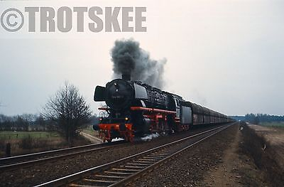 35mm Slide DB West Germany Railways Steam Loco 44 682 1972 Original Deutsche