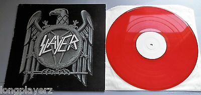 Slayer - Clash Of The Titans 1990 Red Vinyl SGH Records LP