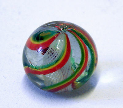 Antique Glass Marble Victorian and Made Pontil Mark - German?