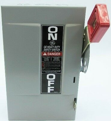 New GE TH4321 30 Amp 240V Heavy Duty Fusible Safety Switch Disconnect New no box