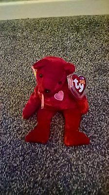 TY Beanie Babies Kiss-E the Bear