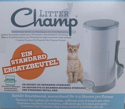 Litter Champ Single Refill Replacement Bag