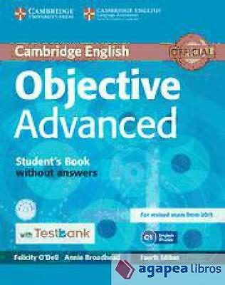 Objective Advanced Student's Book Without Answers. LIBRO NUEVO