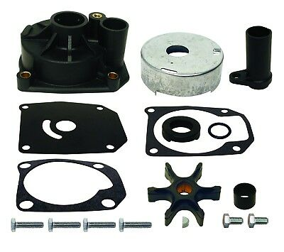 Water Pump Kit w/ 1 Piece Impeller Cup Johnson Evinrude 70 75 hp  438579