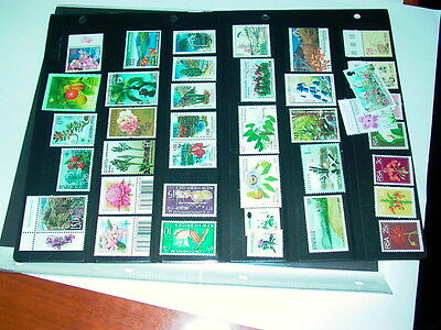 Flowers and Plants on Postage Stamps