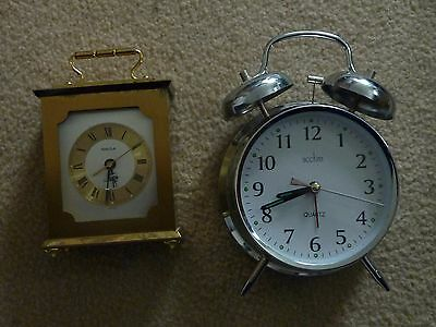 Swiza Alarm Clock & Acctim Quartz Clock
