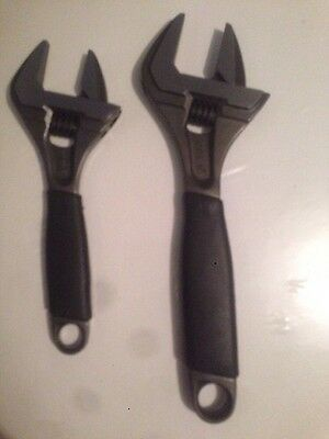 """Bahco 9031 8"""" 218mm and 9029 6"""" 170mm Adjustable wrench Spanners"""