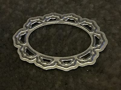 NEW TATTERED LACE OVAL CAMEO DIE APPROX 4cm X 3cm