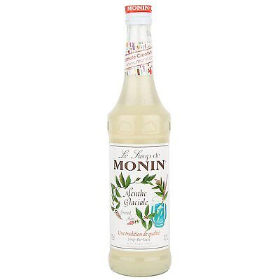 MONIN Coffee Syrup FROSTED MINT 70 CL - Great when added to Cocktails!