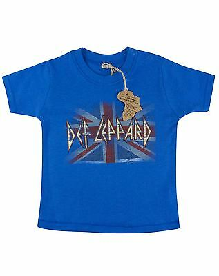 Def Leppard Union Flag Logo Toddler's T-Shirt
