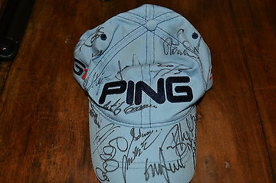 Rory Mcllroy and Various others Autographs