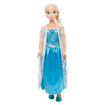 """Disney Frozen MY SIZE DOLLS """"ELSA AND ANNA"""" """"ANNA AND ELSA"""" Light Up Hair Clips"""