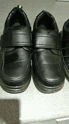 2 pairs of boys school shoes size 2 and size 3