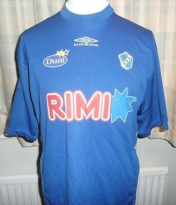 Halmstads LARGE/XL HOME Football Shirt 2002 CHEST SIZE 46 Sweden FREE POSTAGE