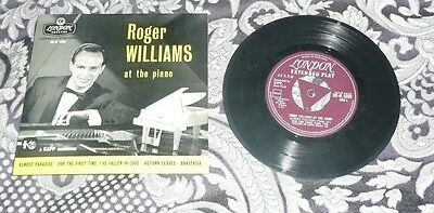 Roger Williams EP 45 London RE -R 1090 PICTURE SLEEVE FREE POSTAGE