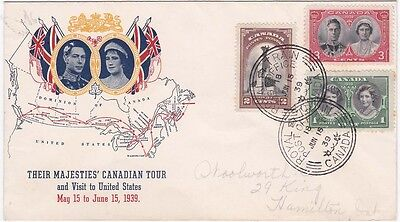 Canada 1938 Illustrated cover Royal Train d.s. Nice looker