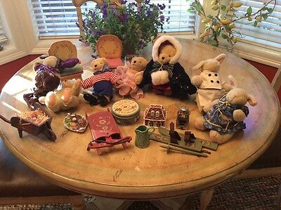 Muffy Bear collection and accessories
