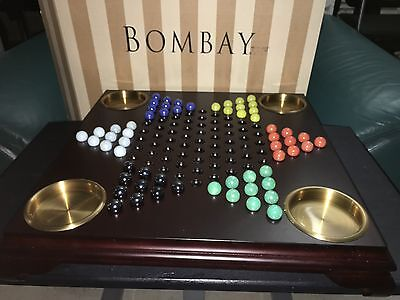 bombay mahogeny chinese checker