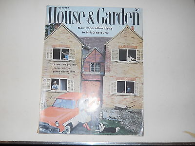 Vintage 1950S Homes And Gardens Magazine