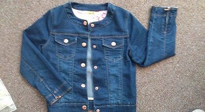 Ted Baker Debenhams Girls Denim Jacket Smart age 6