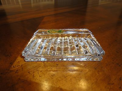 Waterford Crystal Rectangle Paperweight-Mint