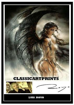 218. Luis Royo  Signed   Photograph......