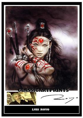 220. Luis Royo  Signed   Photograph......