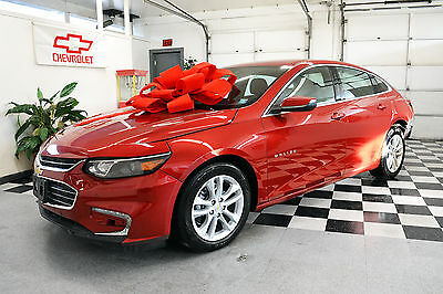 2016 Chevrolet Malibu  2016 Turbo LT ONLY 617 Miles! Certified Rebuildable Car Repairable Damaged Wreck