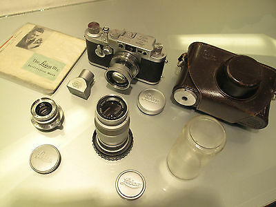 Leica Iii G 1957 Amazing Kit In Mint Conditions