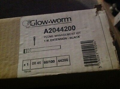 glow worm plume extension  black p/n A2044000.