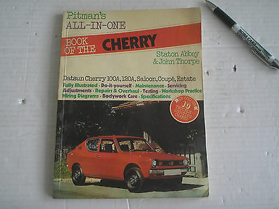 Pitman's All-In-One Book Of The Datsun Cherry - 1976