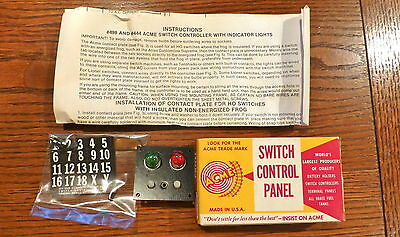 HO Scale Acme Switch Control Panel Lot