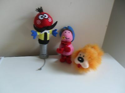 MAGIC ROUNDABOUT DOUGAL ERMINTRUDE & ZEBEDEE McD COLLECTABLES DOG COW