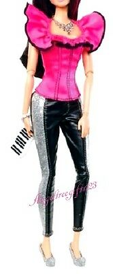 Raquelle hot pink top piano bag Barbie outfit only fits fashion fever body