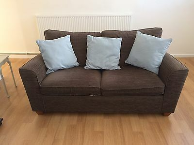 Next Brown Sofa Bed....lovely!