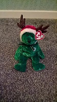 TY Beanie Babies 2002 Holiday Bear the Bear