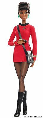 Barbie Star Trek 50th Anniversary Uhura Doll