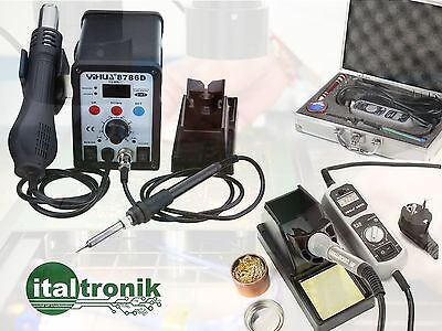 Complete Kit For Welding Air Hot, Solder Fixed E Portable A Current