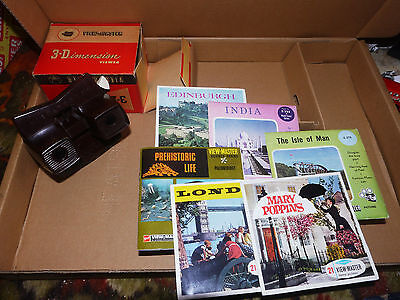 Sawyer's Model E Viewmaster - with reels