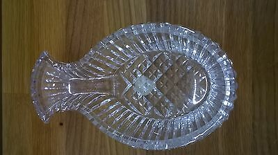 Waterford Crystal Fish Shape Dish
